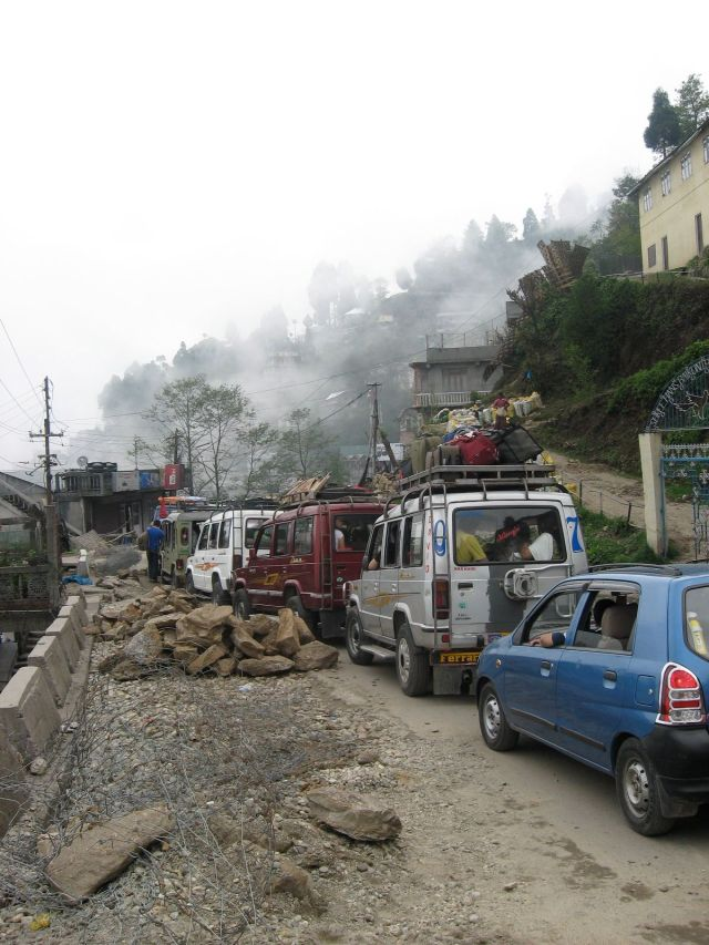Darjeeling Traffic Jam