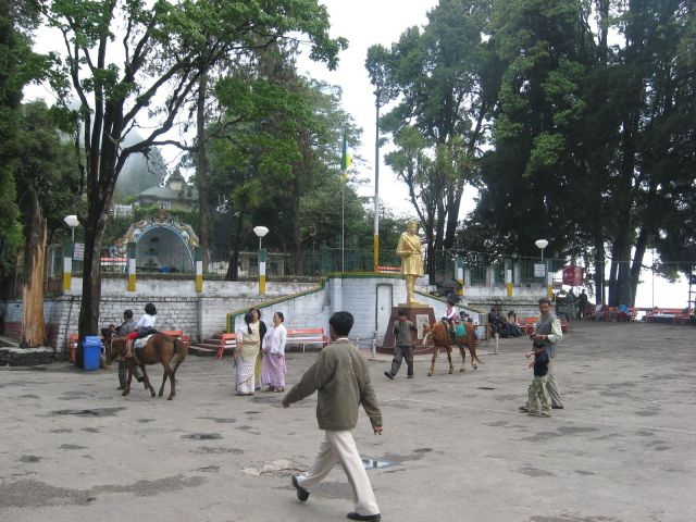 Mall Square of Darjeeling