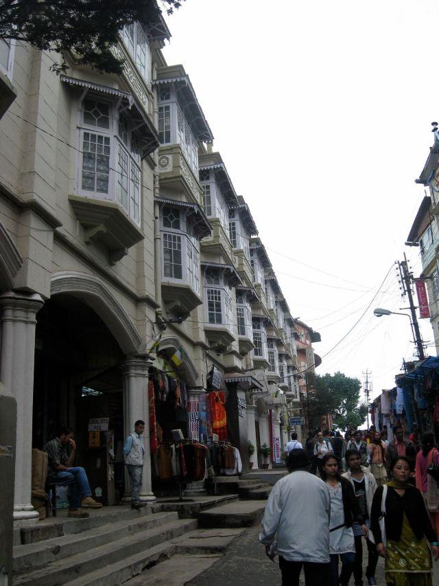 Darjeeling market place