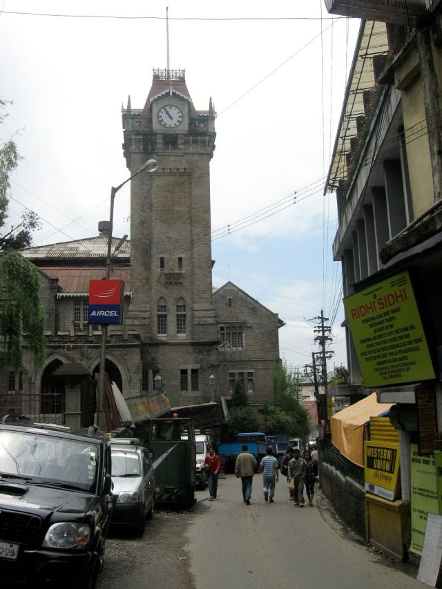 Darjeeling Municipal building bell tower